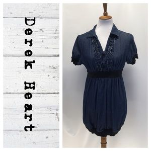 Derek Heart denim tunic dress